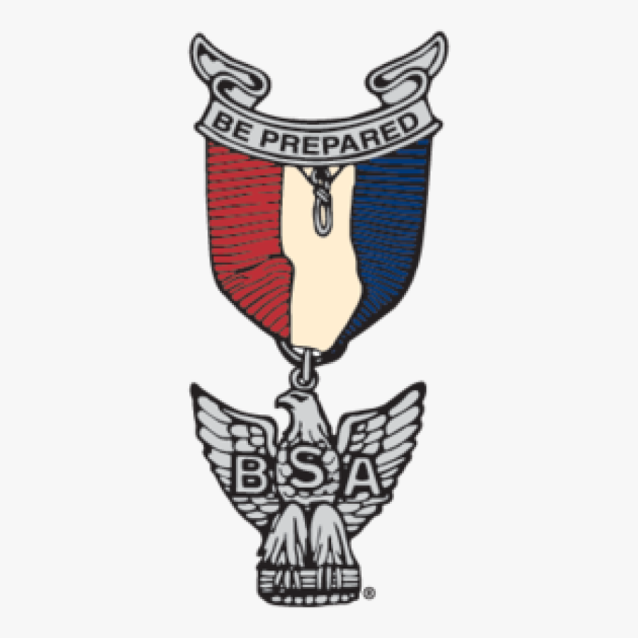 Boy Scouts Of America Eagle Pin, Transparent Clipart