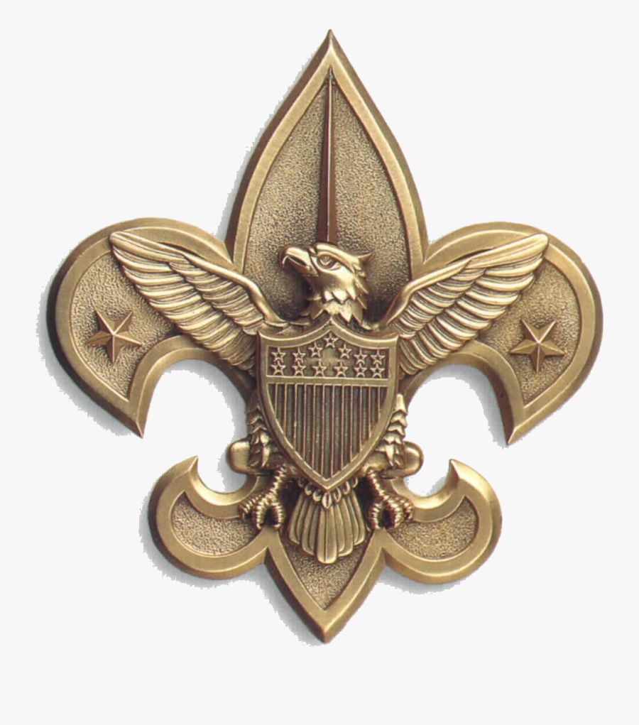 Central Florida Council Eagle Scout Scouting Boy Scouts - Gold Boy Scout Logo, Transparent Clipart