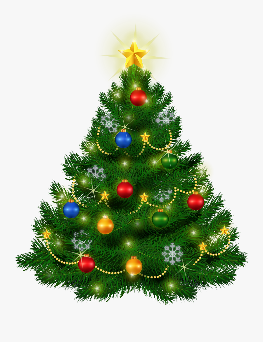 Beautiful Christmas Tree Png Clipart - Transparent Christmas Tree Clipart, Transparent Clipart