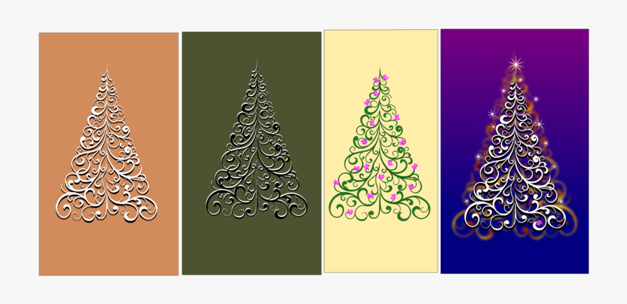 Christmas Ornament - Christmas Tree, Transparent Clipart