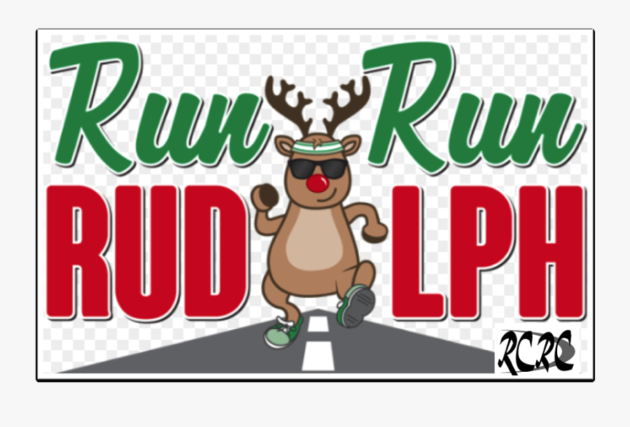 Rudolph Run, Transparent Clipart