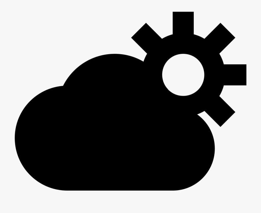 Partly Cloudy Icon Png Download, Transparent Clipart