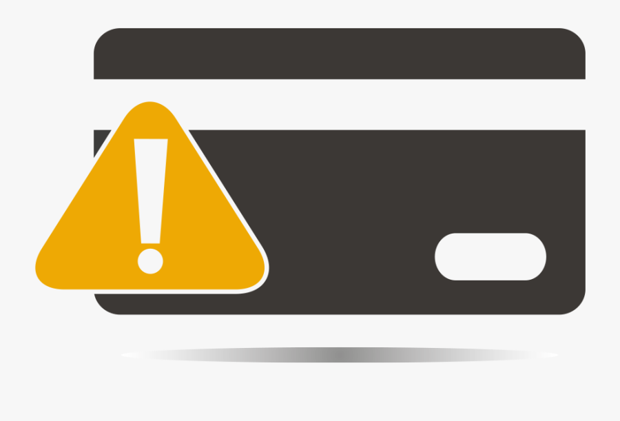 Credit Card Risk Assessment - Credit Card Risk Icon, Transparent Clipart