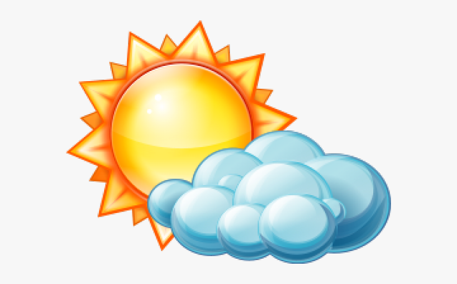 Partly Cloudy Pictures - Partly Cloudy Icon, Transparent Clipart