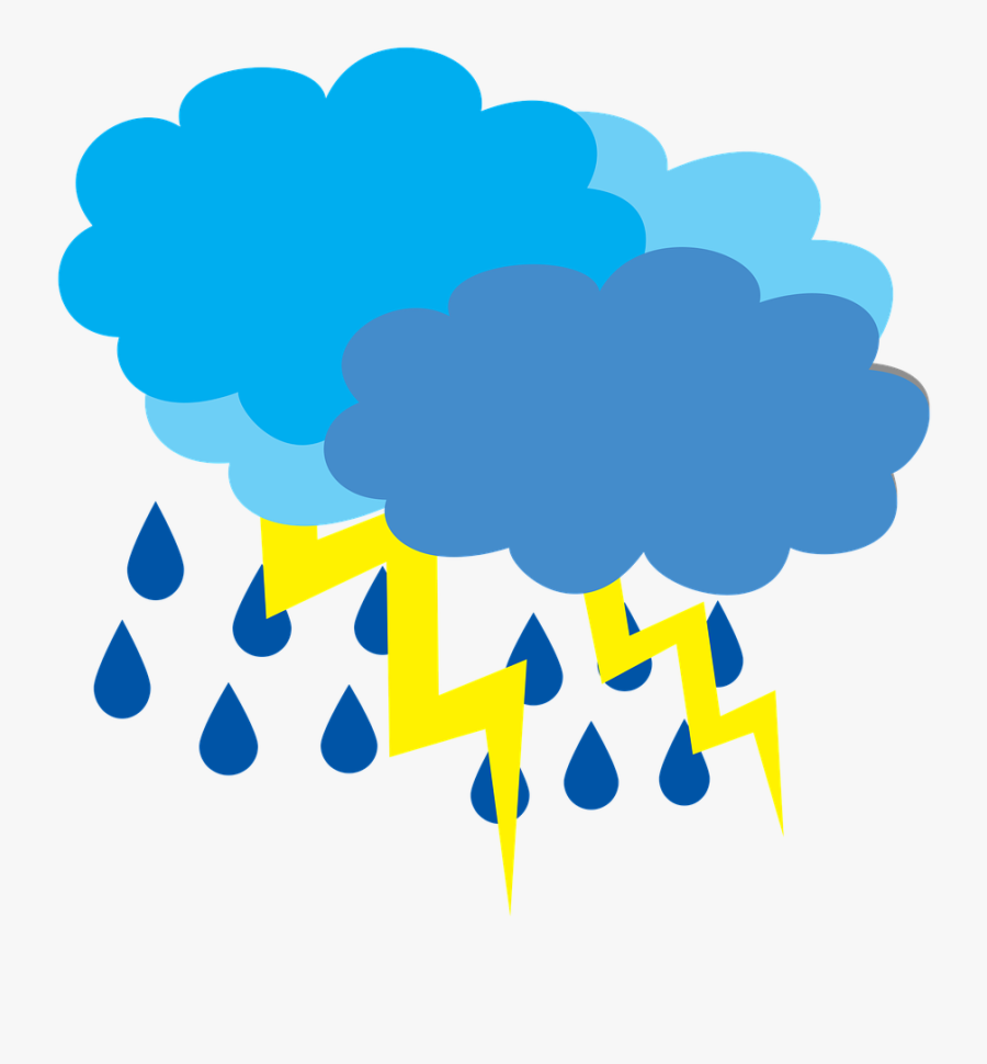 Cloud Cover With The Clouds,weather - Transparent Background Weather Stormy, Transparent Clipart