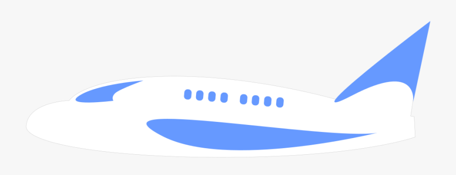 Airplane Aeroplane Minimal Outline Free Transparent Clipart