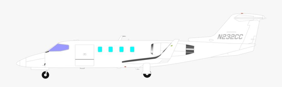 Light Aircraft,narrow Body Aircraft,airplane - Narrow-body Aircraft, Transparent Clipart