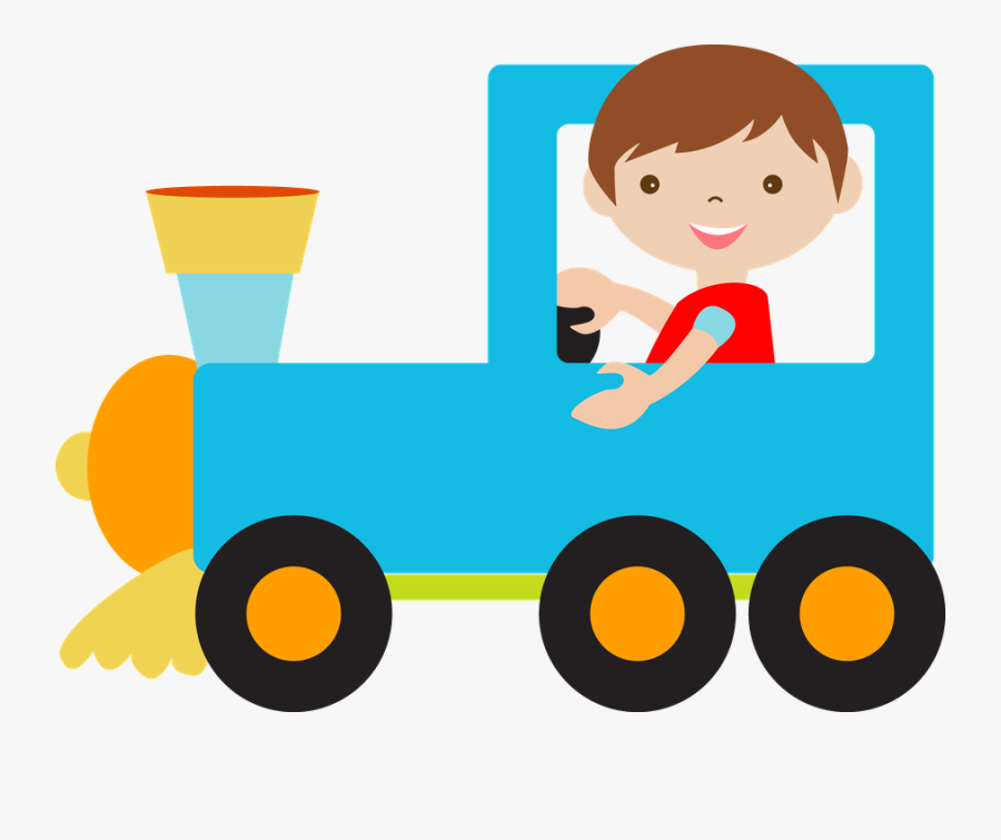 Train - - Fundo Meios De Transporte, Transparent Clipart