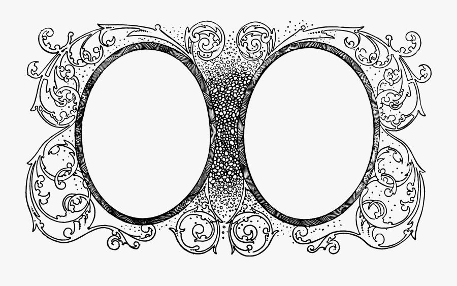 Picture Stock Filigree Svg Old School - Illustration Frames, Transparent Clipart