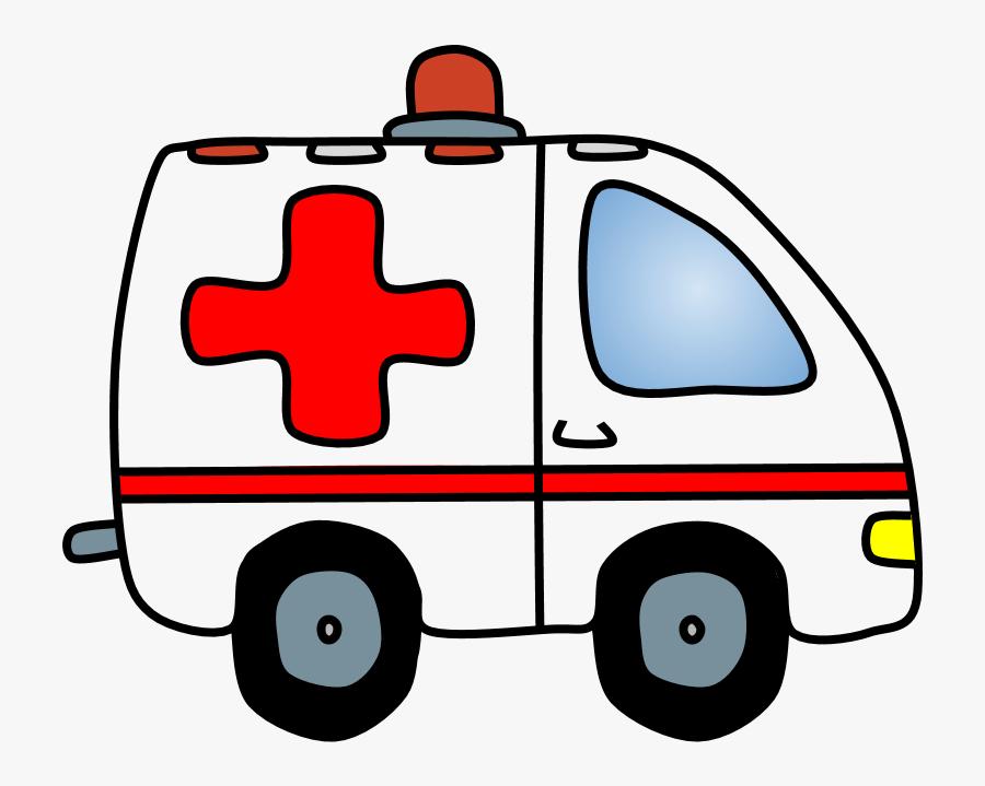 Ambulance, Transparent Clipart