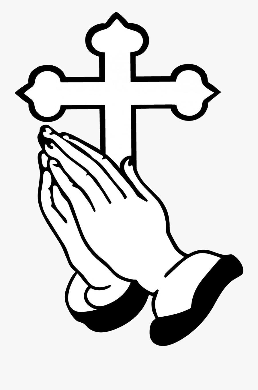 Praying Hands Christian Clip Art Ideas And Designs - Clip Art Prayer Hand, Transparent Clipart