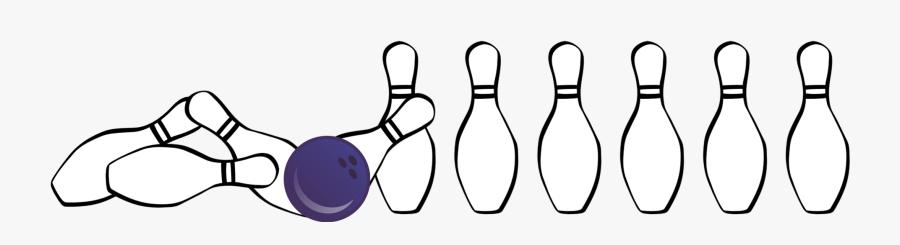 Ten-pin Bowling Clipart , Png Download - Ten-pin Bowling, Transparent Clipart
