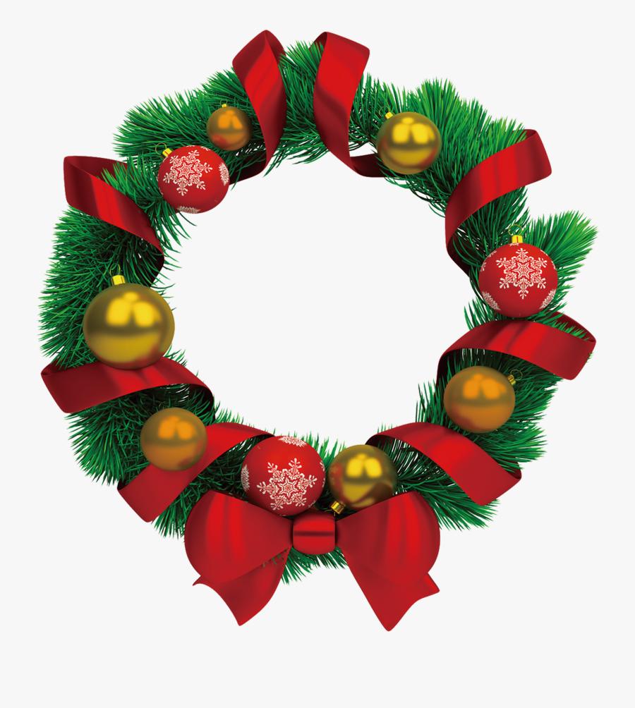 Transparent Holiday Garland Png - Guirlandas De Natal Png, Transparent Clipart