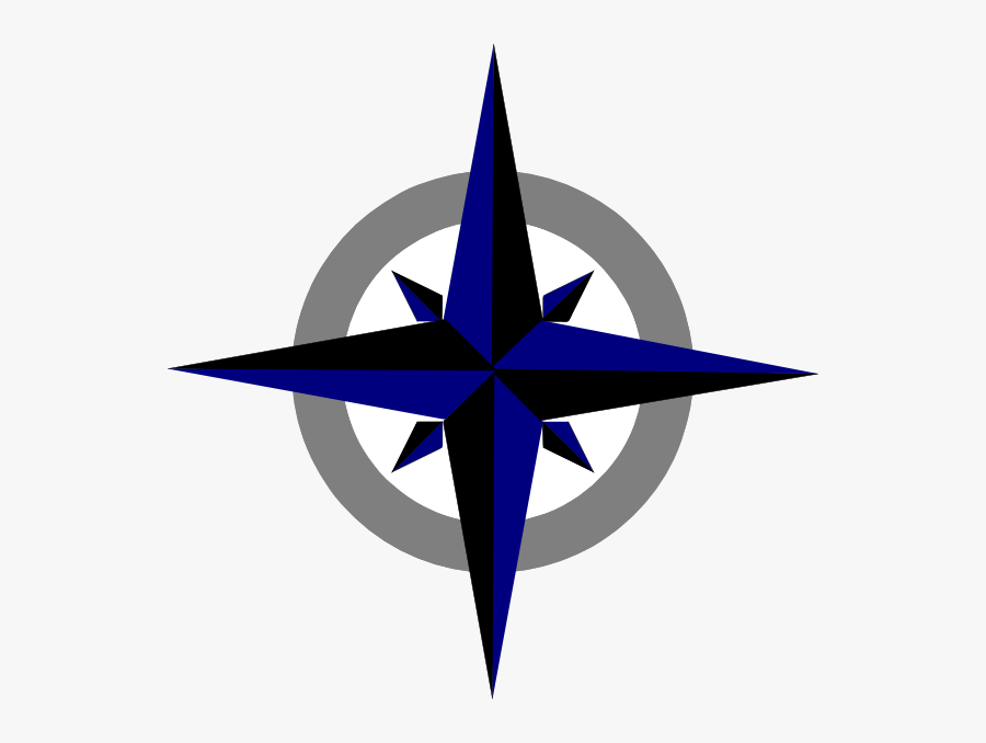 Cute Compass Rose Drawing, Transparent Clipart