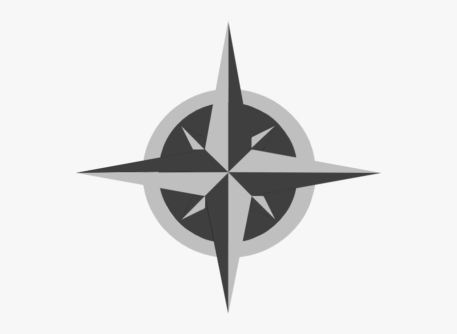 Clip Art Free Download Clip Art - Compass Rose Logo Png, Transparent Clipart