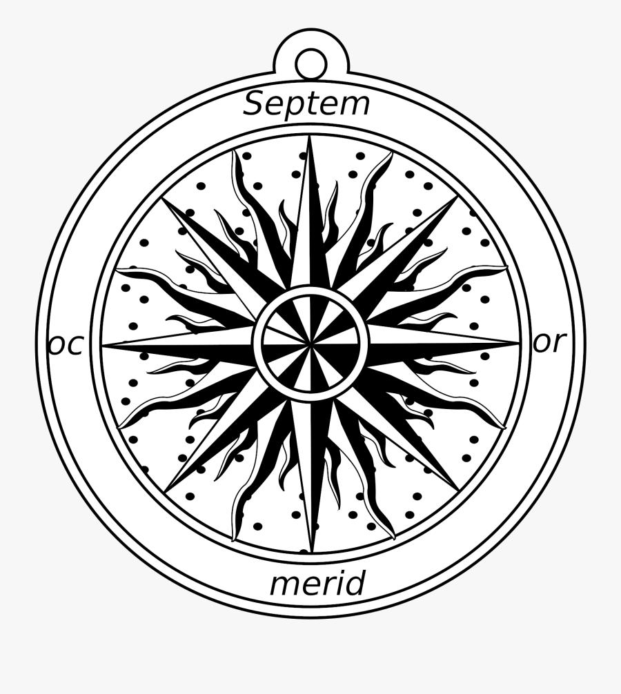 Compass Rose Png, Transparent Clipart