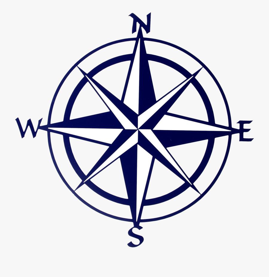 Transparent Compass Rose Png - Compass Clipart, Transparent Clipart
