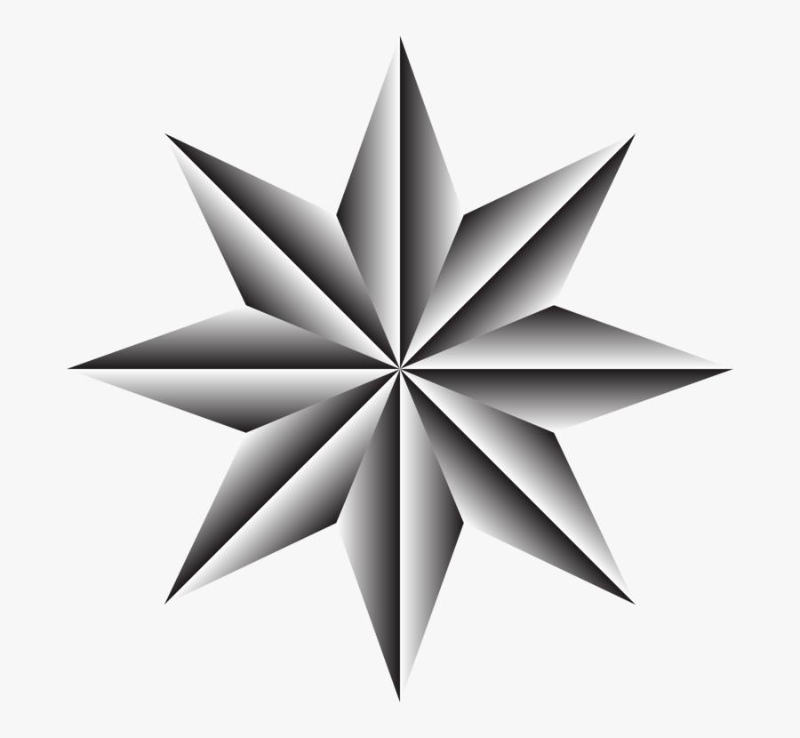 Star,symmetry,monochrome Photography - Tour Operators Philippines, Transparent Clipart