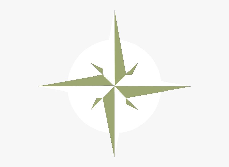 White Compass Rose Svg Clip Arts - White Compass Rose Png, Transparent Clipart