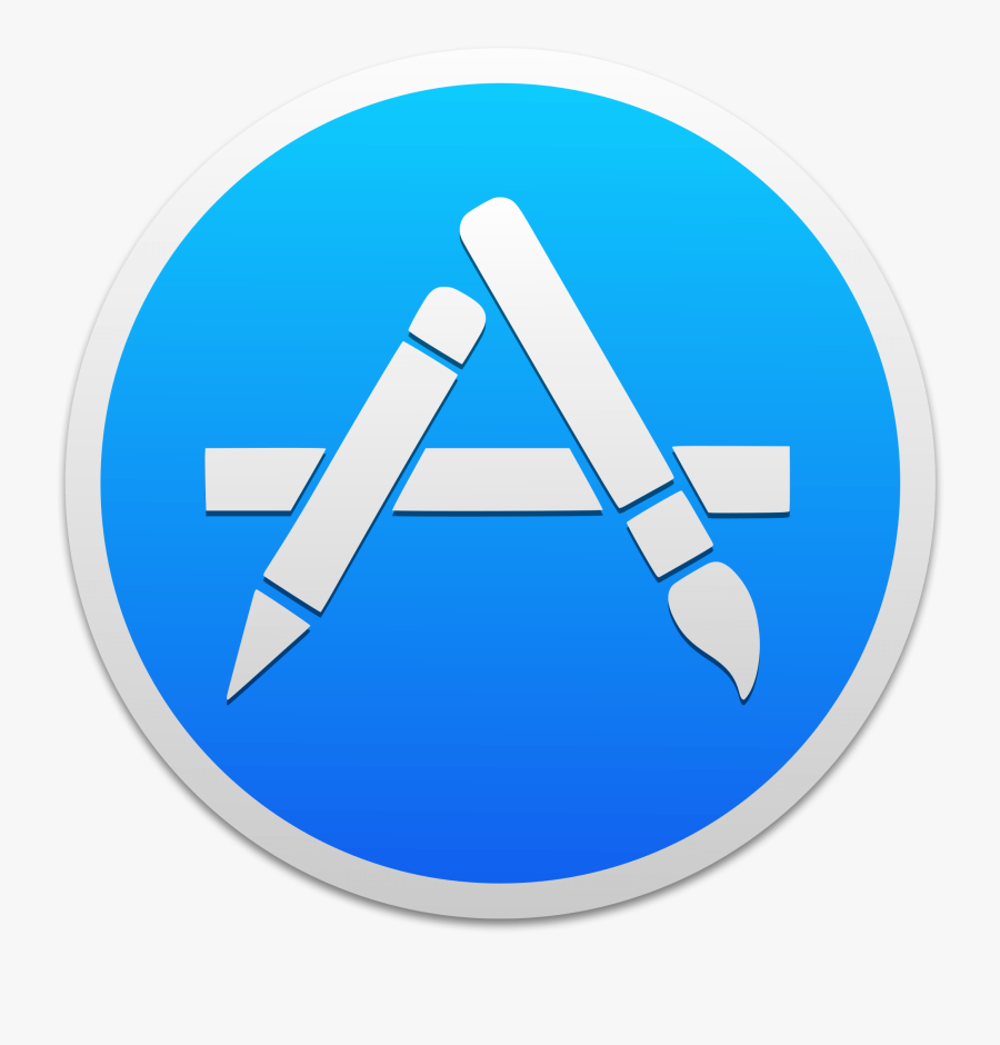 App Store Mac Os Icon, Transparent Clipart