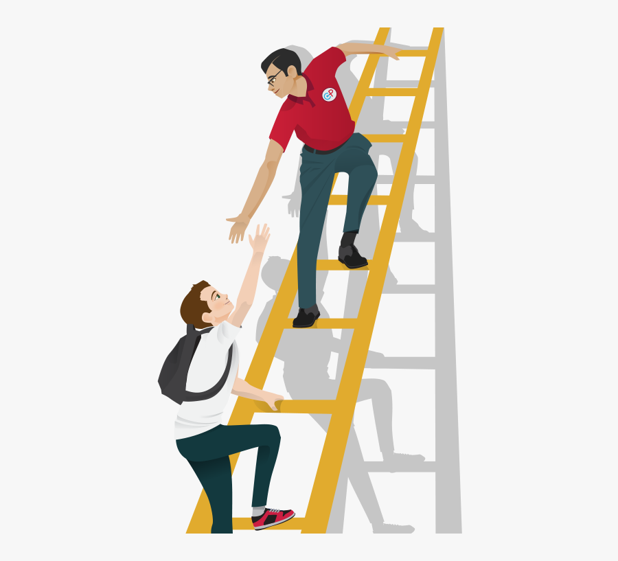 Ladder Of Success Png Pic - Transparent Ladder Of Success Png, Transparent Clipart