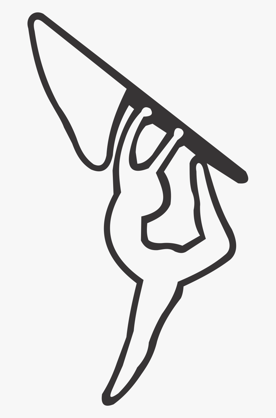 Color Guard Clip Art Colour Guard Image Portable Network - Draw A Color Guard Flag, Transparent Clipart