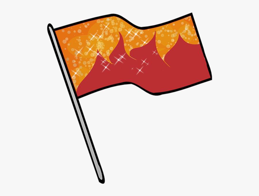 Color Guard Flags Clipart - Color Guard Flag Png, Transparent Clipart