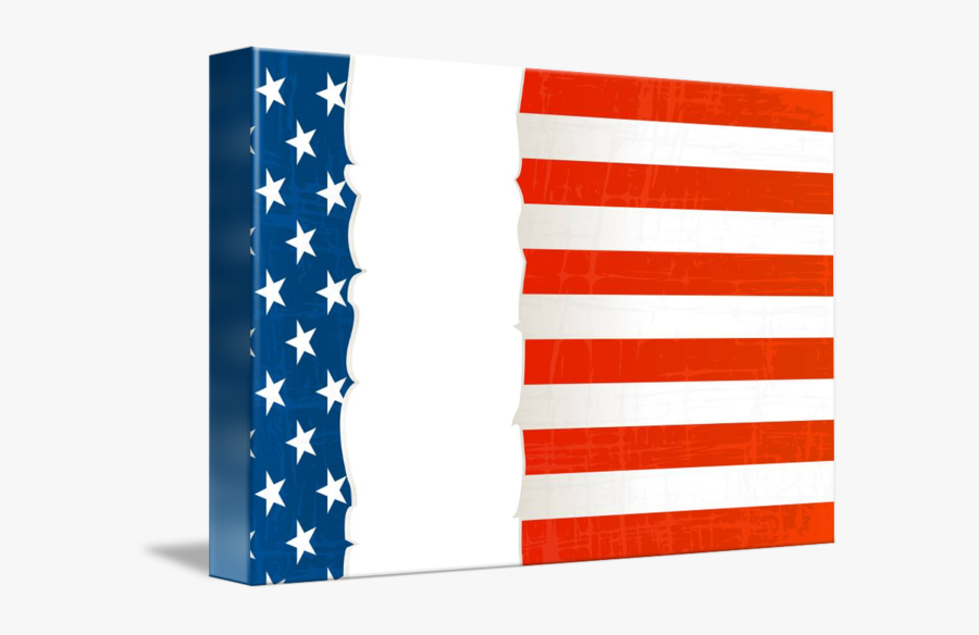 Clip Art Background By Richard Laschon - Flag Of The United States, Transparent Clipart