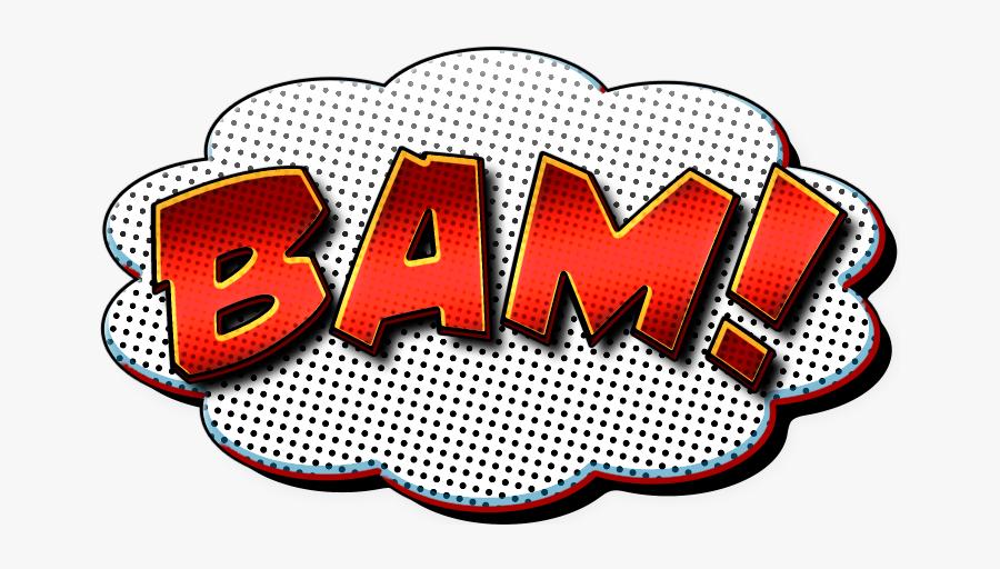 Comic Book Themed Speech Bubbles Pop Studios Props - Transparent Png Comic Bubbles, Transparent Clipart