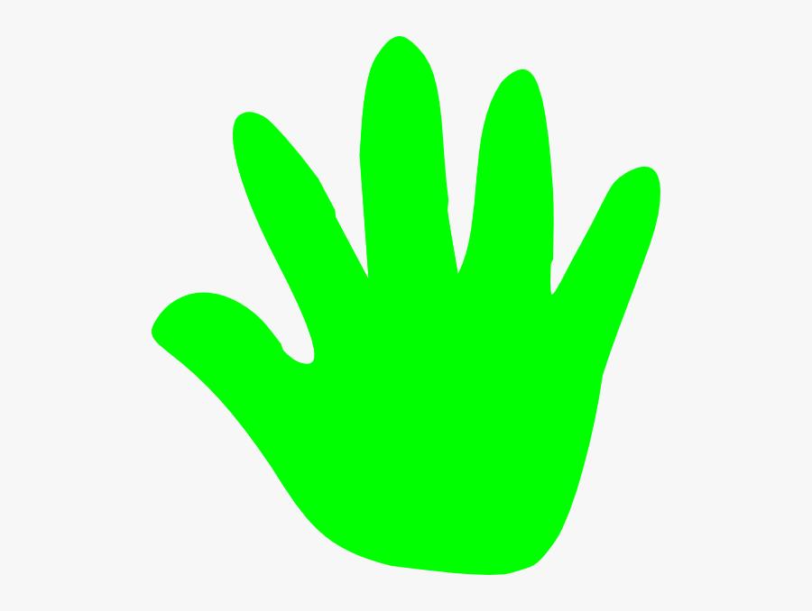 Handprint Clipart Transparent Background - Hand Print - Png Download  (#1007465) - PinClipart