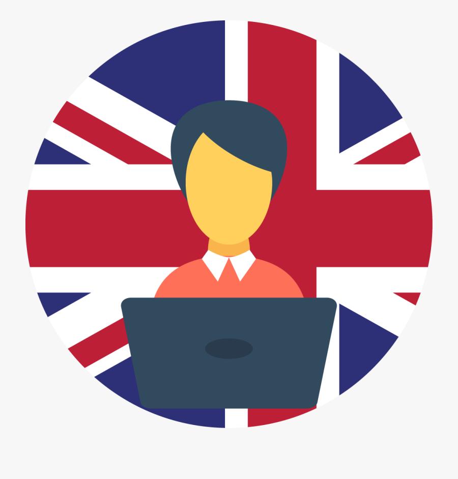 English Clipart English Course - English Course Icon Png, Transparent Clipart