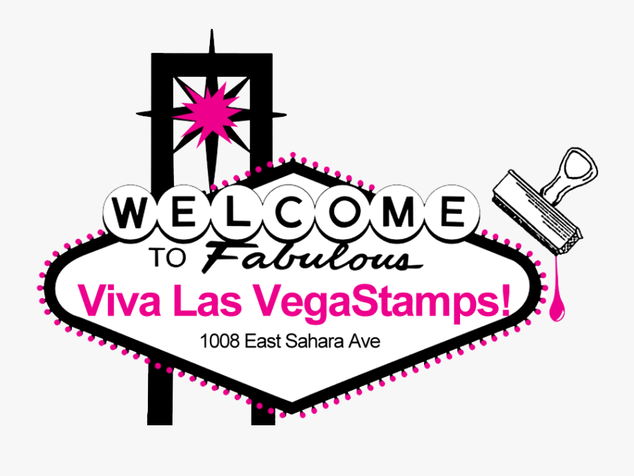Welcome To Las Vegas Sign, Transparent Clipart