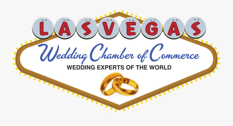 Wedding Chamber Of Commerce - Las Vegas Wedding Png, Transparent Clipart