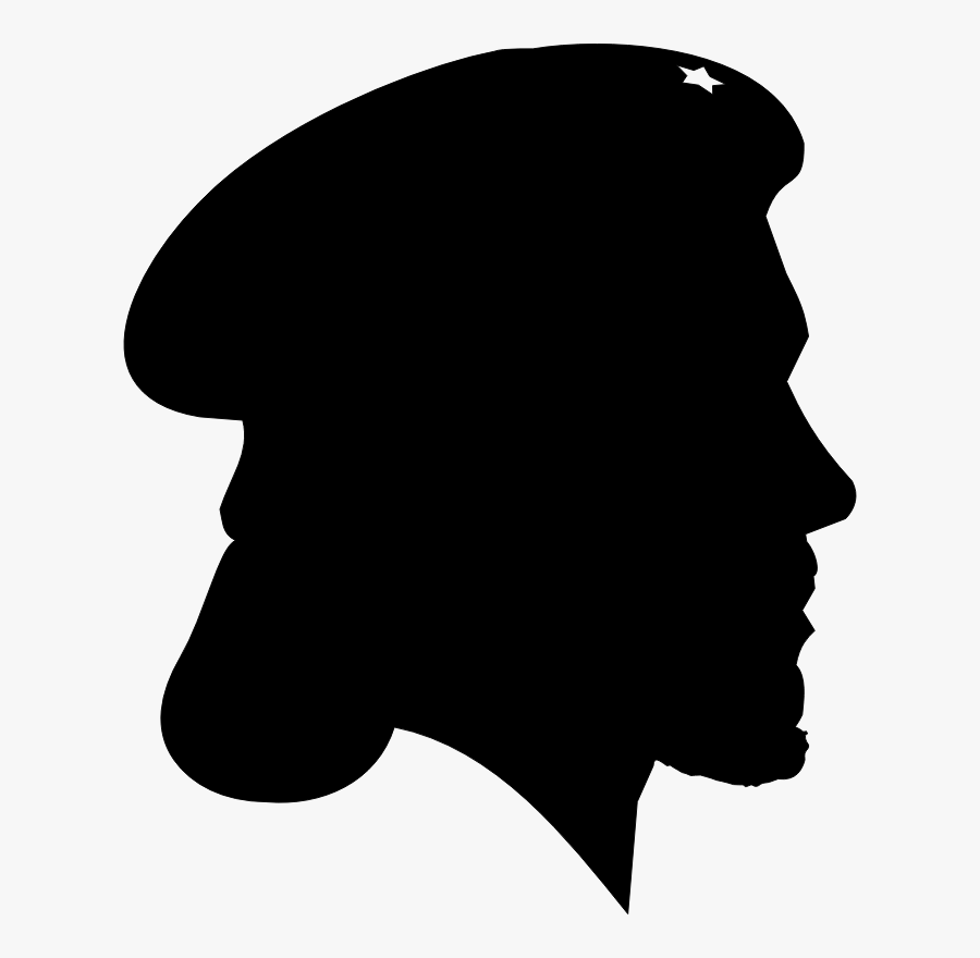 """I""""m Starting To Think That Che Guevara And The Jesus - Silhouette World War 2 Drawing, Transparent Clipart"""
