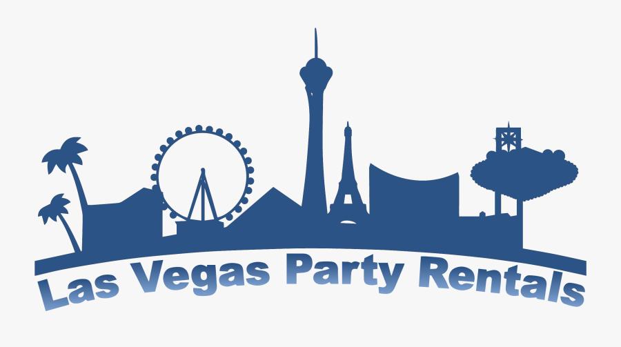 Las Vegas Skyline Png, Transparent Clipart