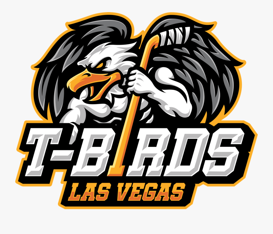 Las Vegas Thunderbirds Hockey, Transparent Clipart