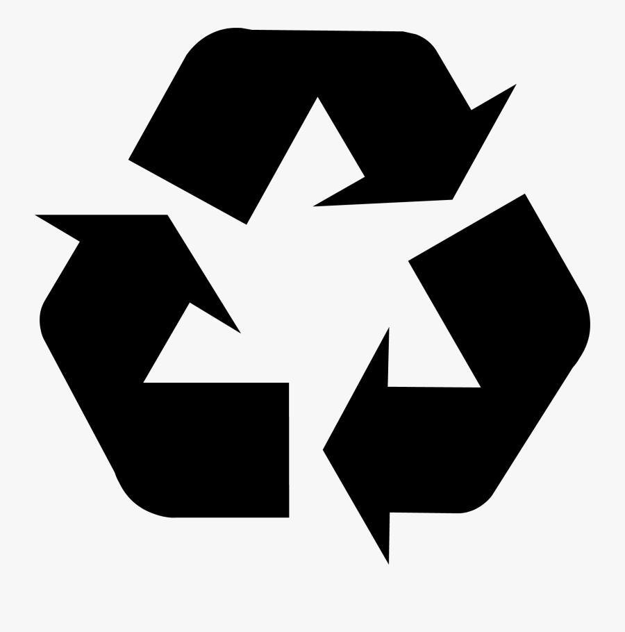 Purple Recycle Symbol, Transparent Clipart