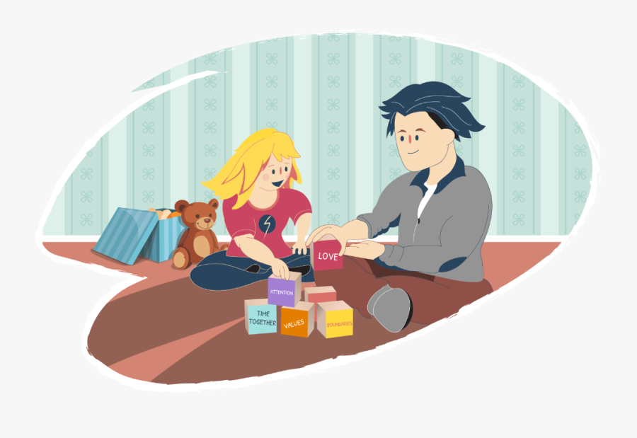 Building Healthy Family Relationships - Clip Art, Transparent Clipart
