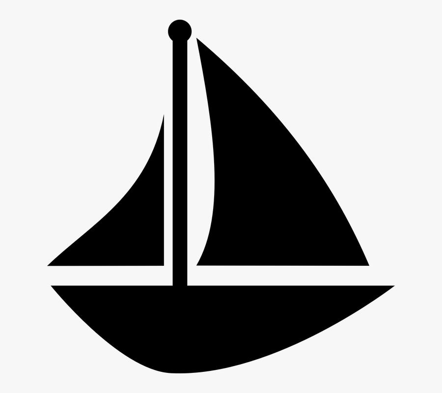 Water Boat, Sail, Sailboat, Schooner, Sea, Ship, Ocean, - Boat Sailing Clipart, Transparent Clipart