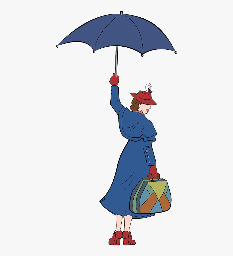 Disney Clipart Mary Poppins, Transparent Clipart