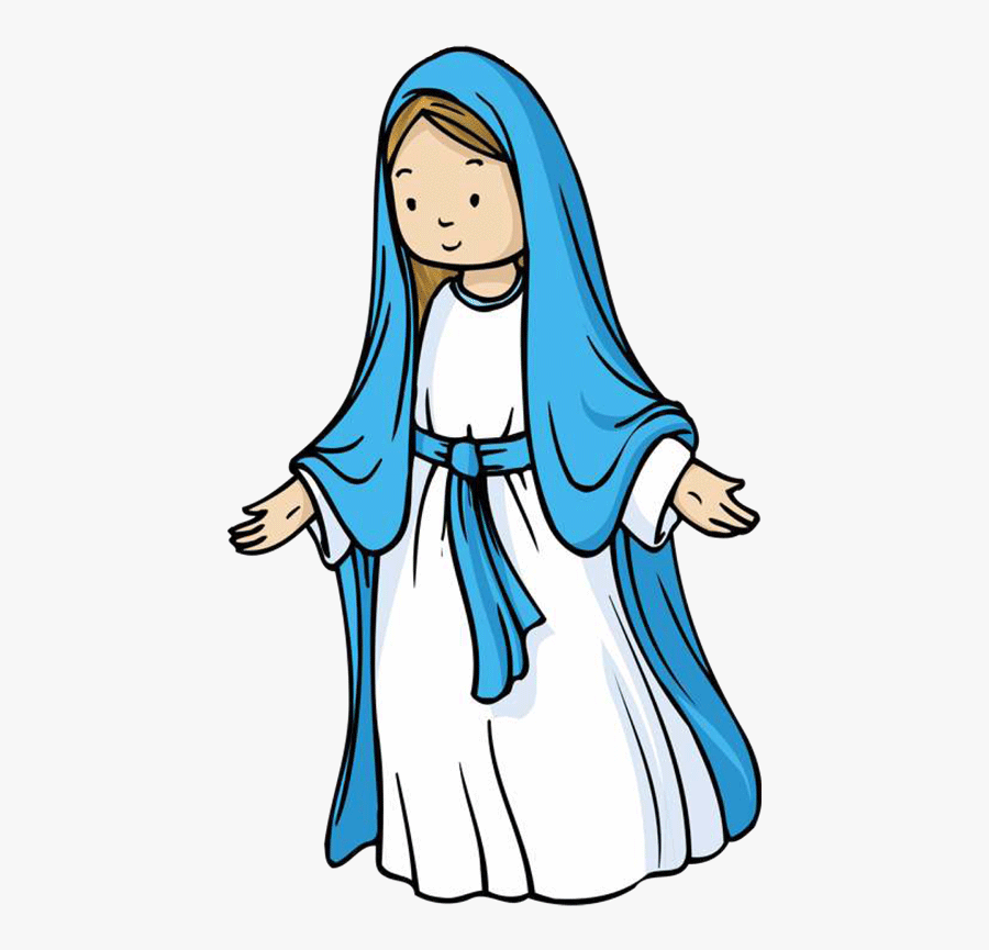 Top Mary Clip Art Free Clipart Spot Png - Mary Mother Of Jesus Clipart, Transparent Clipart