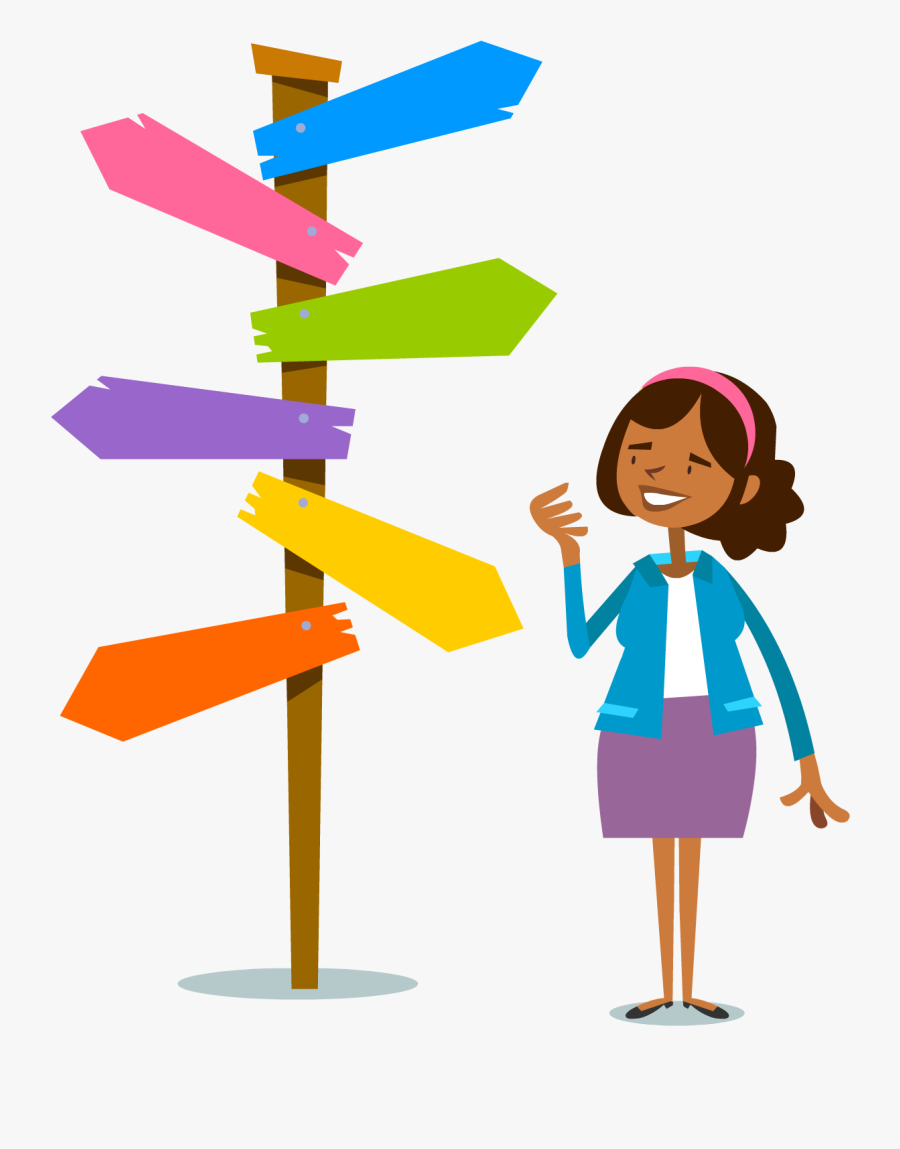 Colourful-decisions - Decision Making Choices Clipart , Free Transparent Clipart - ClipartKey