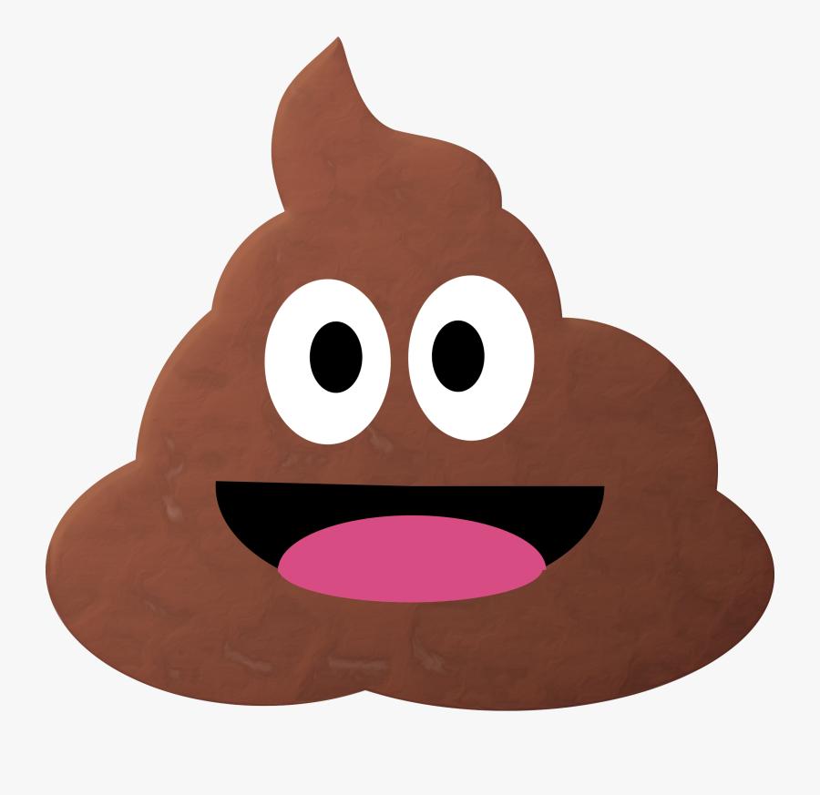 Poo Emoji Remix - Poop Emoji Png Transparent, Transparent Clipart