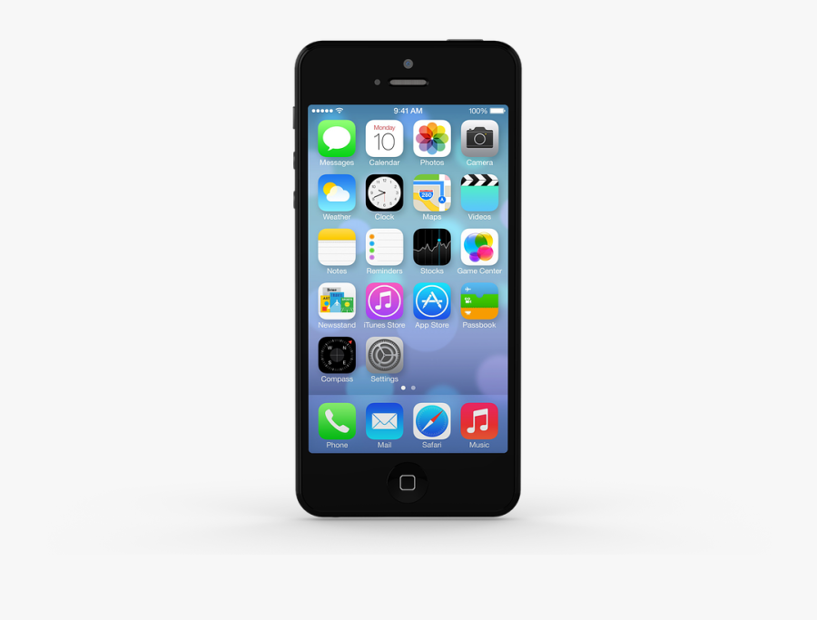 Iphone Render, Transparent Clipart