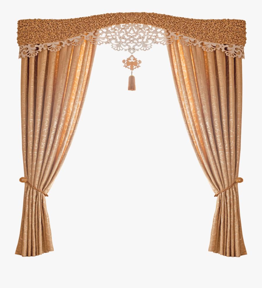 Blind Rod Grey Window Treatment Curtain Clipart - Curtain, Transparent Clipart