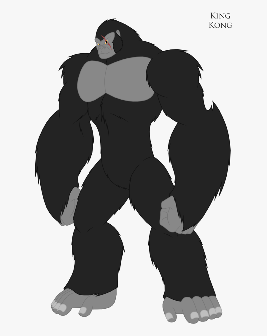 Collection Of Free Comic Drawing King Kong - Kong The Animated Series Kong, Transparent Clipart