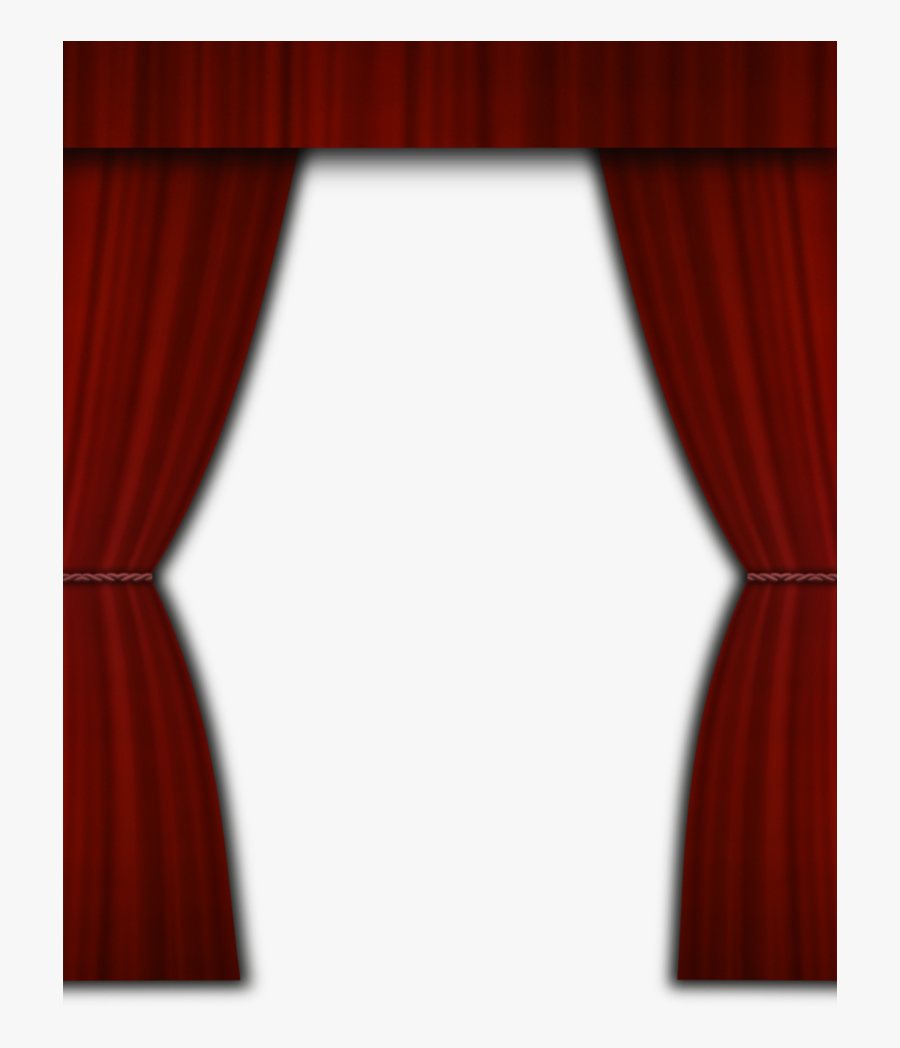 Download Curtain Clipart Torn - Bingkai Gorden Png, Transparent Clipart