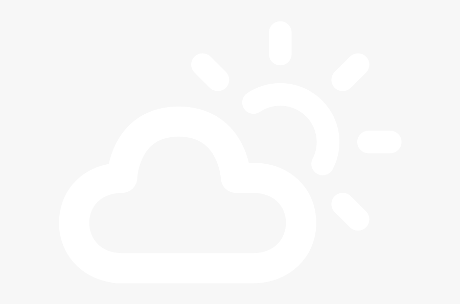 Transparent Partly Cloudy Clipart - Illustration, Transparent Clipart