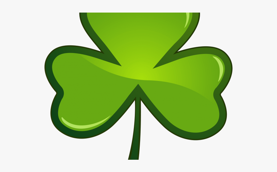 St Pattys Day Clover, Transparent Clipart