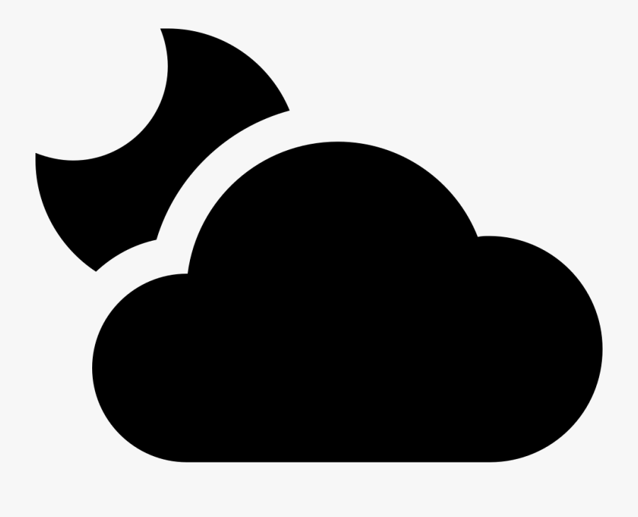 Partly Cloudy F, Transparent Clipart